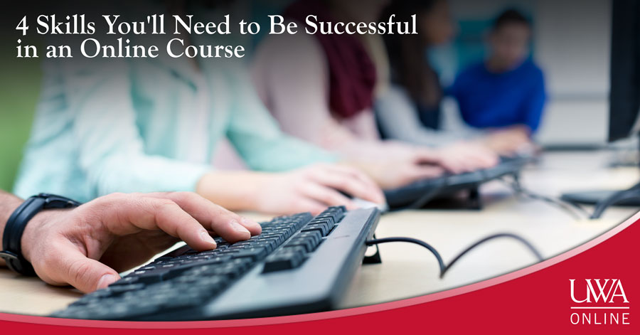 successful in an online course