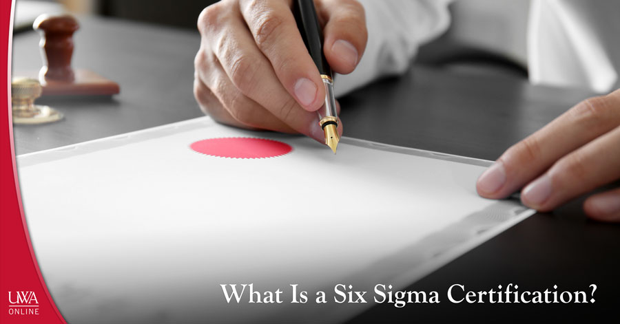 What Is A Six Sigma Certification Uwa Continuing Education