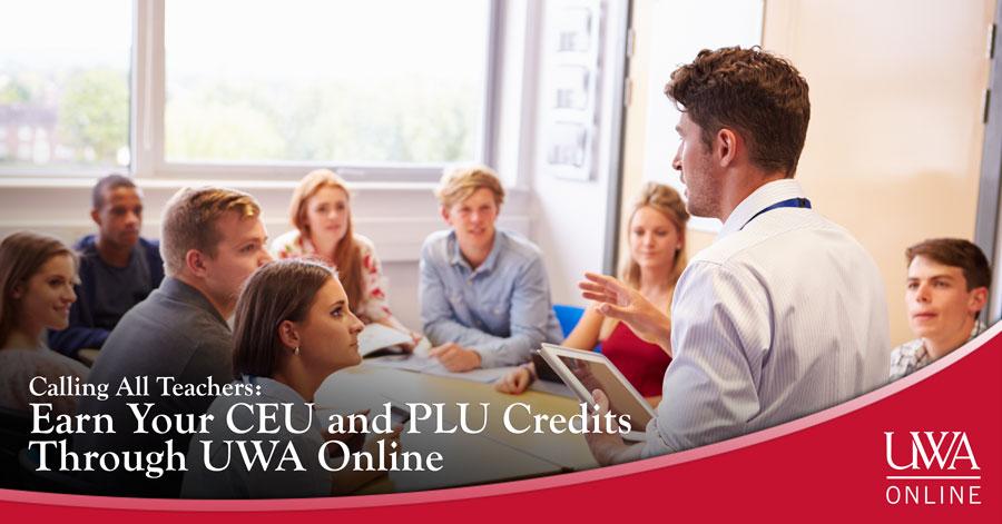 CEU and PLU credits