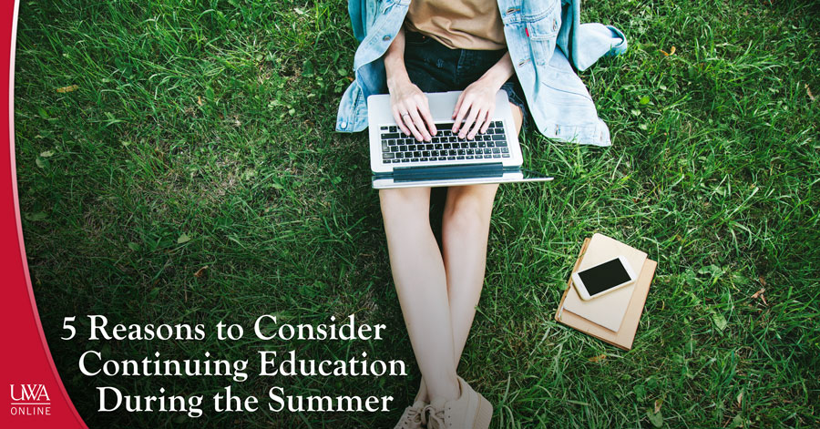 continuing education during the summer