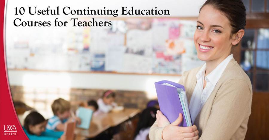 continuing education courses for teachers