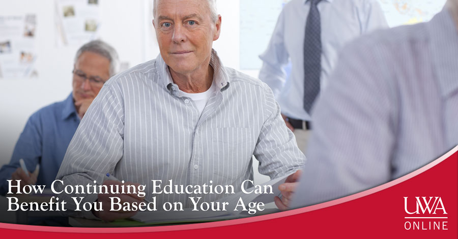 continuing education can benefit you