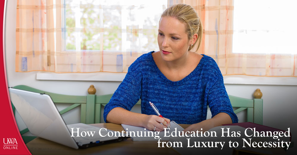 continuing education has changed