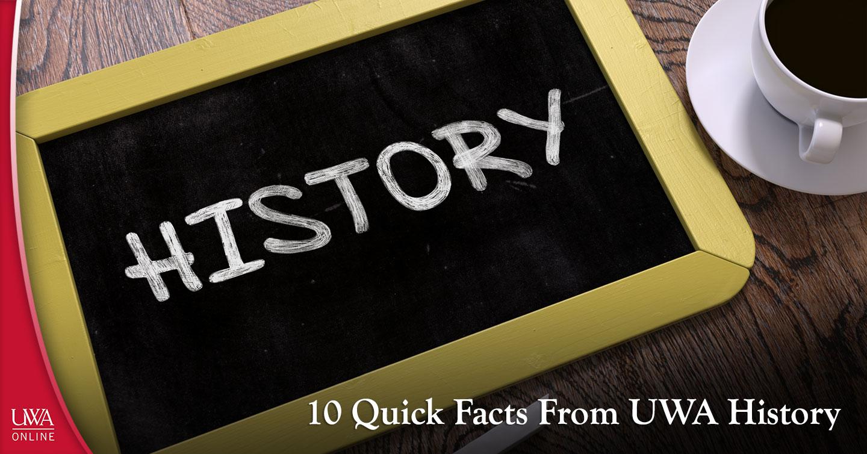 UWA history