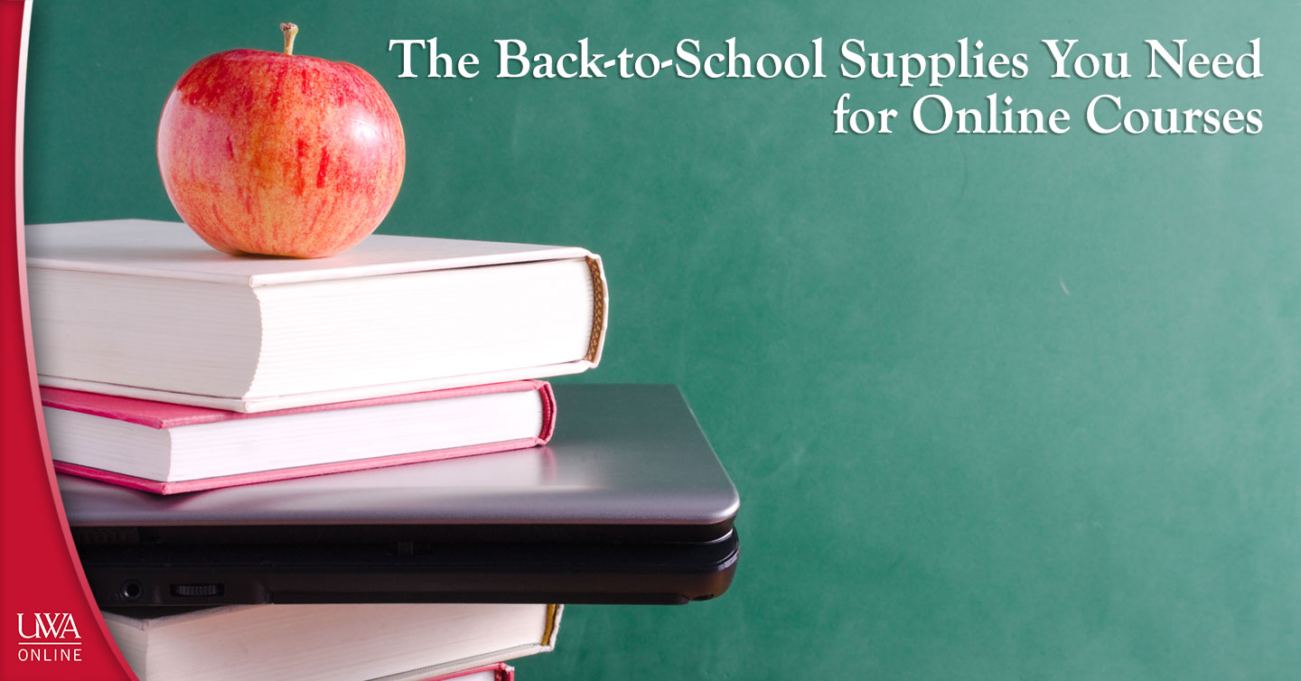 back-to-school supplies you need for online courses