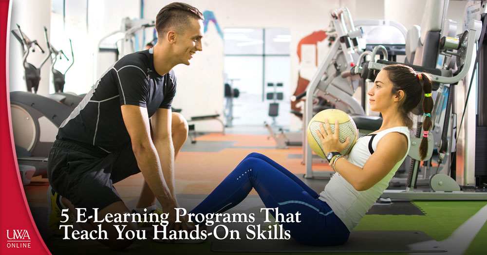 e-learning programs that teach you hands-on skills