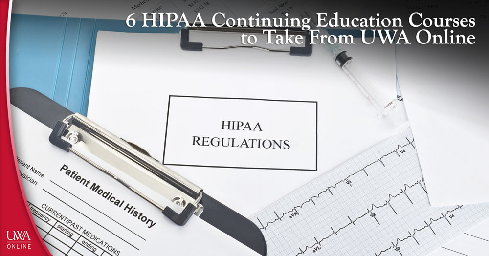 HIPAA continuing education courses