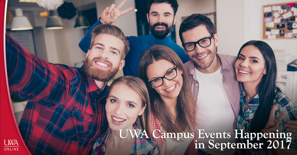 UWA campus events happening in September 2017