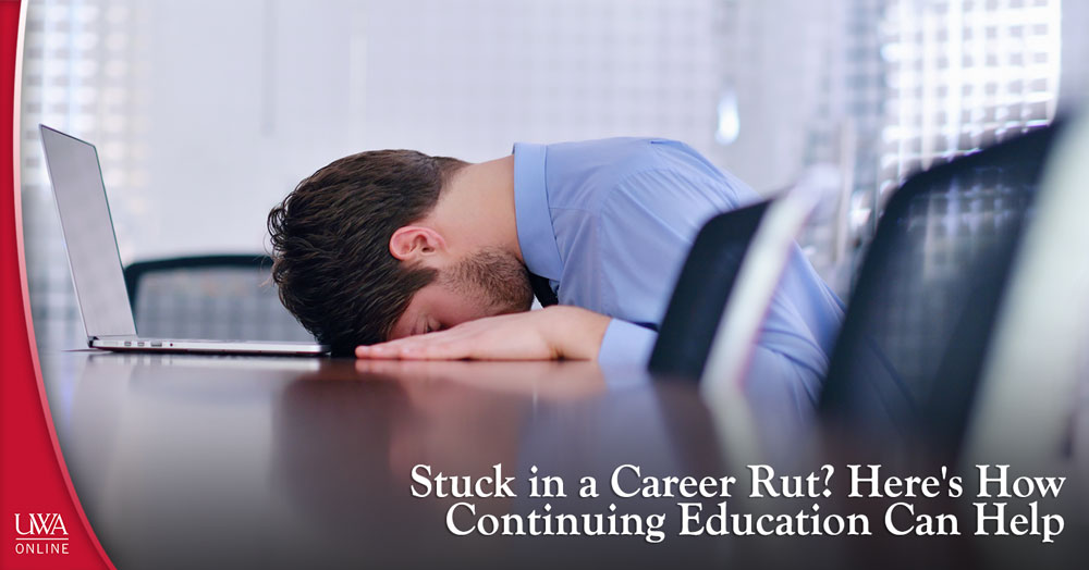 stuck in a career rut